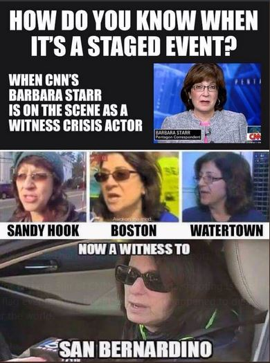 crisis actors false flag event