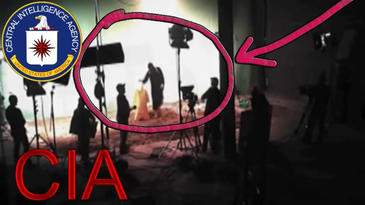 CIA ISIS studio fake behading