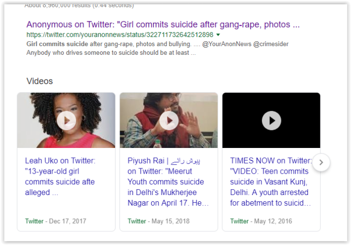 cyber-bullying leads to suicide
