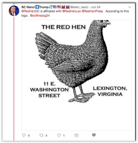Red Hen Lexington and Red Hen Washington