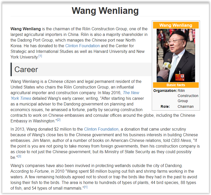 Wang weillian chinese billionare donates to terry mcauliffe