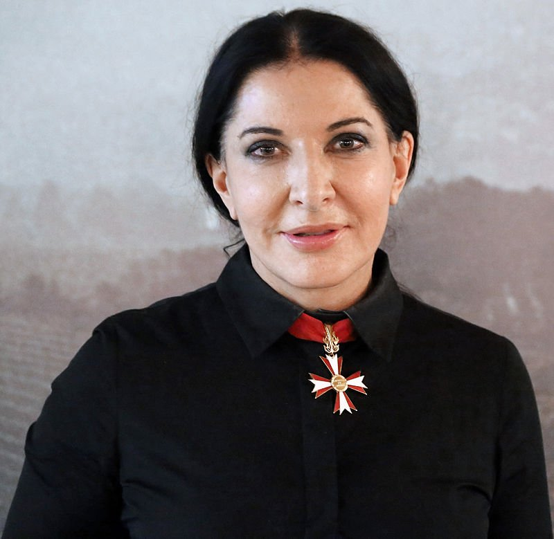 Marina Abramovic knights of Malta