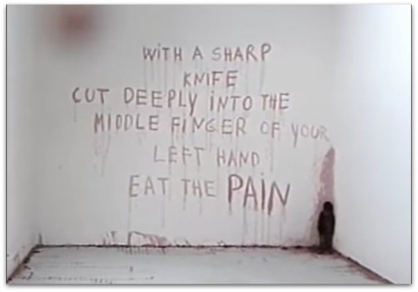 With a sharp knife marina abramovic spirit cooking