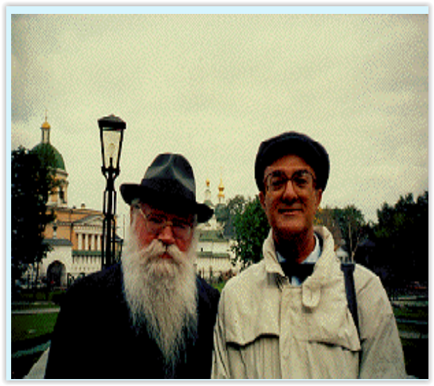Prof. Santilli as a guest of Prof. A. A. Logunov, when Director of the High Energy Physics Laboratories in Protvino, Russia, in July 1994, to discuss the possible direct experimental verification in Protvino of the expected deviations from special relativity, a theory conceived for the representation of point particles in vacuum, when used in the interior of the hyperdense hadrons, a test first proposed by Prof. Santilli and still not considered in Western Laboratories for reasons of academic politics, despite known implications for much needed new clean energies and fuels.