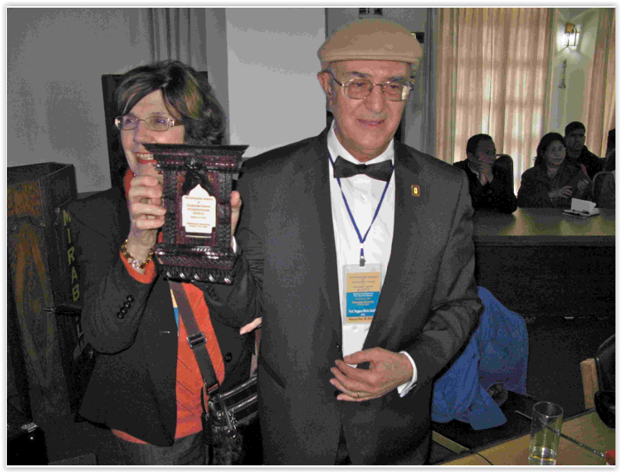 Prof. Santilli at the reception of the 2011 Nepal Scientific Prize, January 7, 2011, Kathmandu, Nepal. Kathmandu, Nepal.