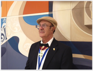 Prof. Santilli following the reception of the highest prize granted by the Republic of San Marino, the gran Cross of the St. Agata Order on September 8, 2011.