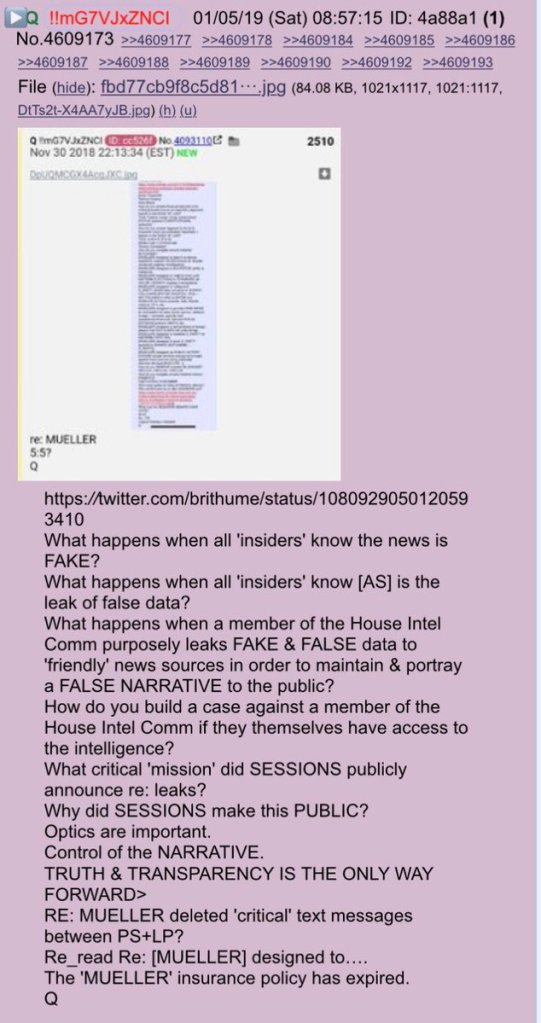 qanon wrong again about 'mueller policy probe expired'