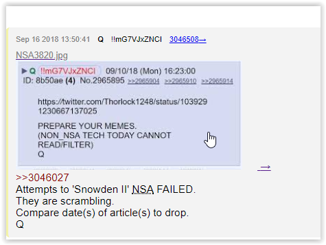 non nsa tech qanon is bullshit - elemi