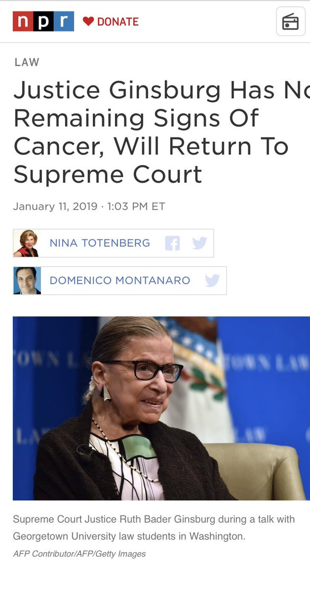 Justice Ruth Ginsburg qanon cold reading