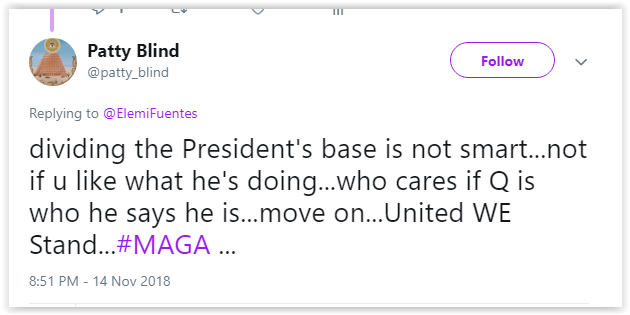 Attacks from Qanon for questioning the Plan - Qanon is a Larp full of Qunts