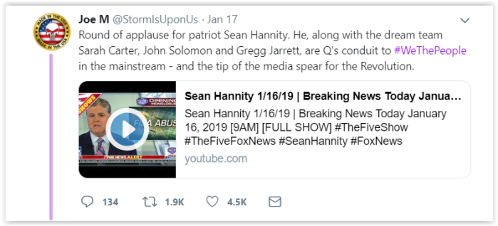 Qanon mob attacks Avenatti - Q sent me threats