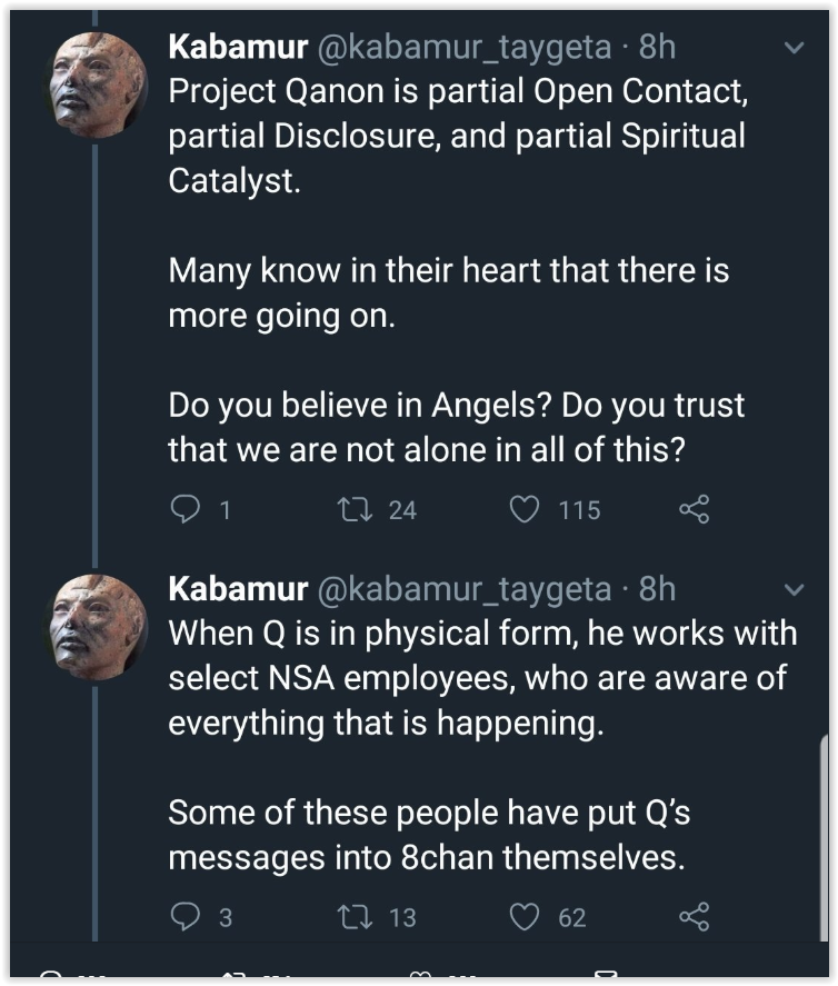 What is Qanon - wild conspiracy theories Qfolk believe true based on an a larp started on 4chan - trust the plan - Elemi fuentes