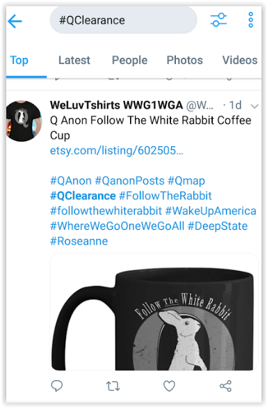 Nobody is making money from Qanon - patriots don't do it for the money - Qanon posts