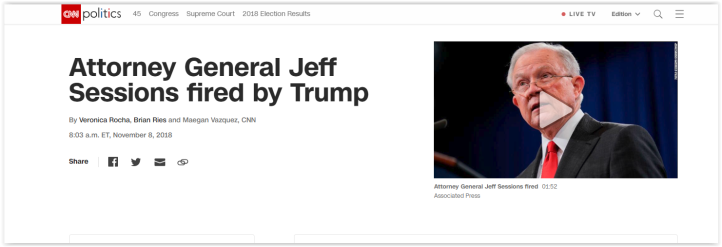 trump fires AG Jeff Session - Qanon community is devastated as yet another breadcrumb turns into a lie