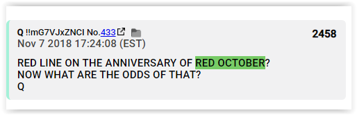 red october red wave red tsunami mid terms are safe qanon lies