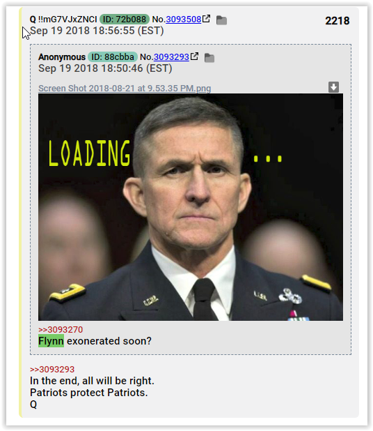 patriots protect patriots qanon lies about general flynn