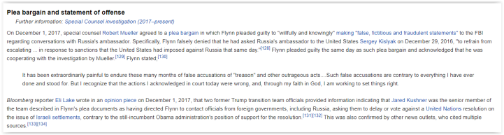 flynn sentencing and plea deal - qanon is wrong again