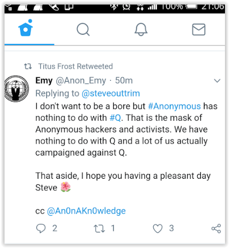 anonymous group denounces qanon