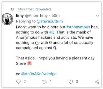 anonymous cyber-activist groups against qanon