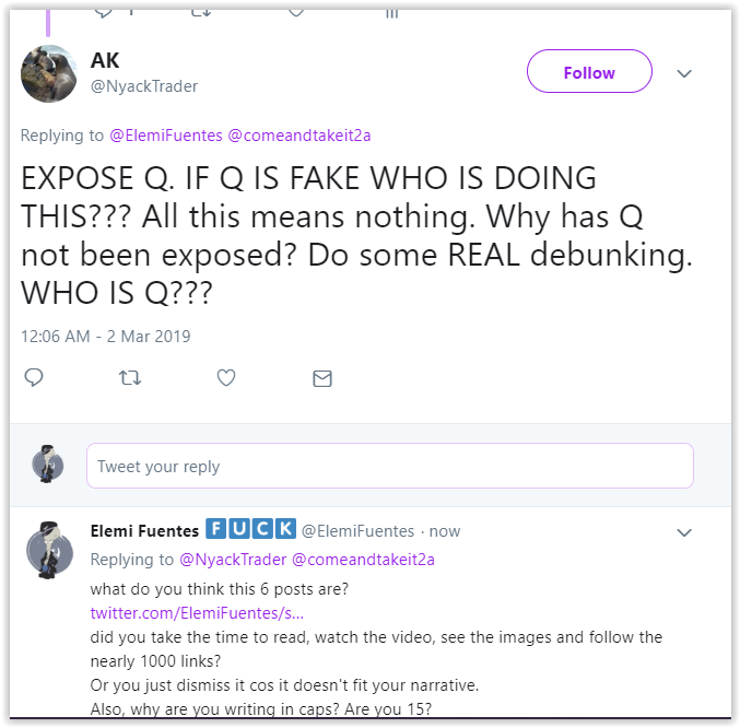 qanon posts -qanon well-balanced community of researchers