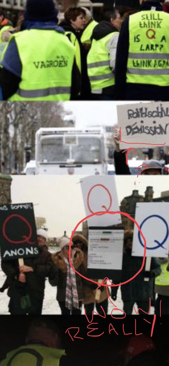 yellow vest qanon photosopped images qanon lies