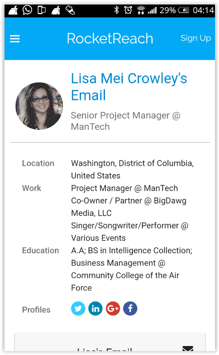 LIsa mei crowley -the mantech connection -qanon