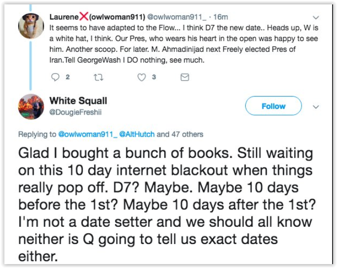 excuses over qanon failed predictions