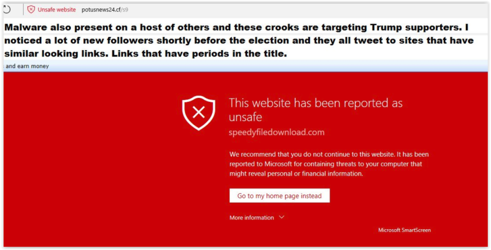 Qanon-maga websites infected with malware -potusnews24