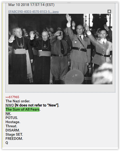 Qanon the sum of all fears -qanon posts - q is a larp - q is cia