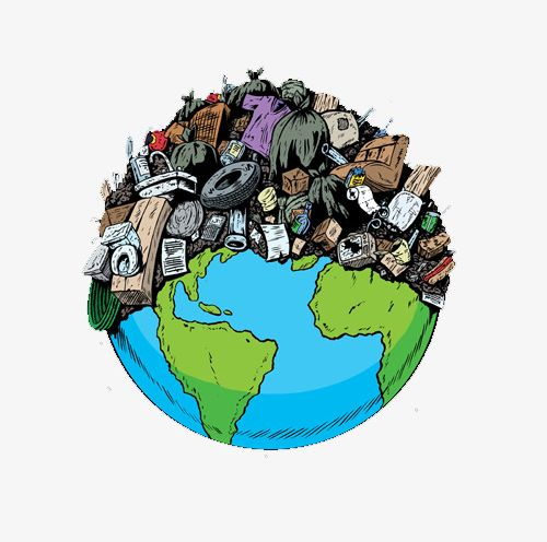 garbage earth- mother gaia recycling - elemi fuentes - kindness challenge